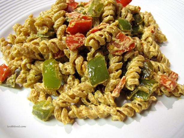 Bell Pepper Cream Cheese Pasta