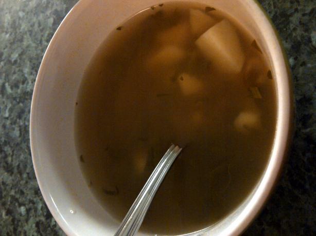 Portuguese Rapini Soup