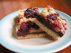 Chocolate Cranberry Bars (Vegan or Not)