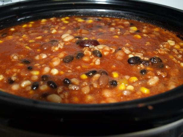 Slowcooker Turkey Chili