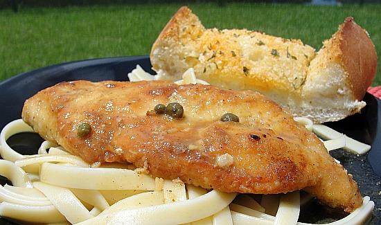 The Realtor's Chicken Scallopini
