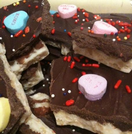 Chocolate Valentine Bark