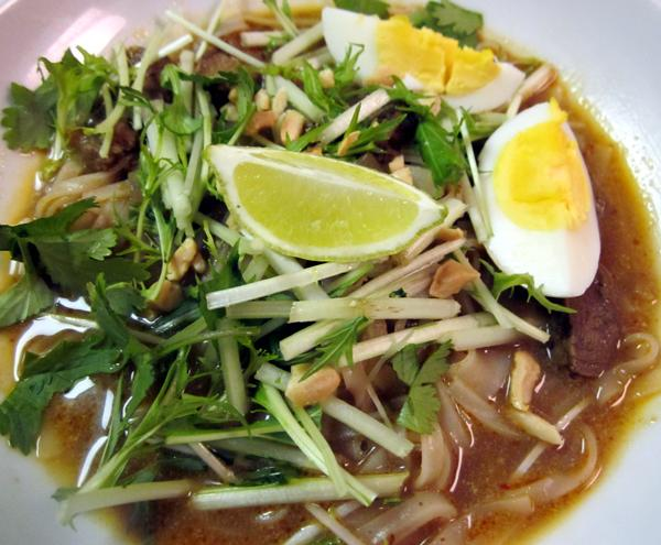 Thai Curried Noodle - Gueyteow Kak