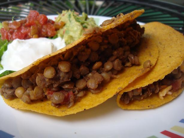 Family Fave Lentil Tacos