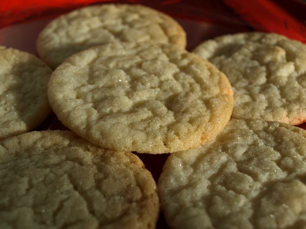 Mom's Cracked Sugar Cookies