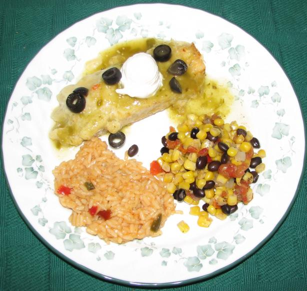 Chicken Enchiladas Verdi