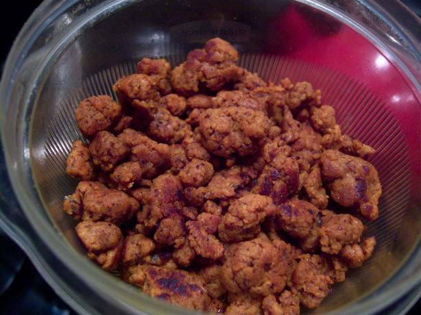 Seitan Chorizo Crumbles
