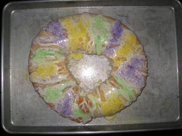 Super Easy King Cake