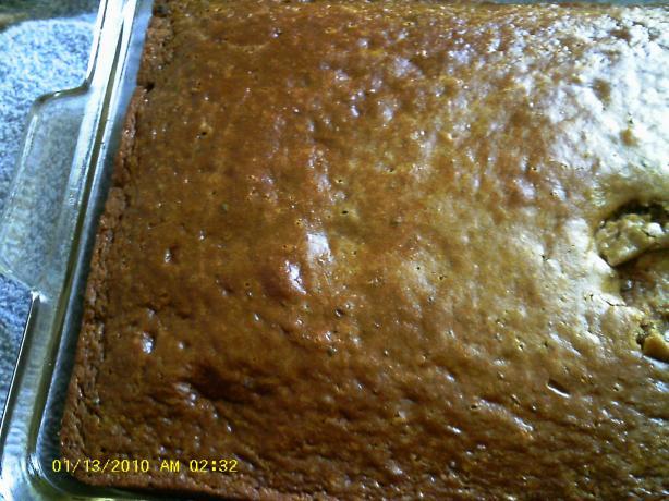 Chocolate Cake Made With Salad Dressing
