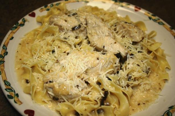 Creamy White Wine Chicken