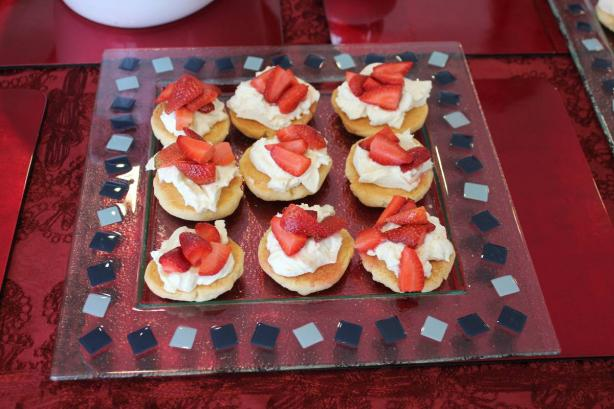 Strawberry Shortcakes by Donna Hay