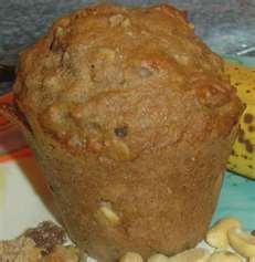 Banana Protein Jumbo Muffins
