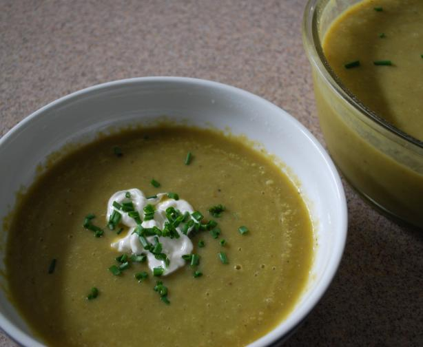 Extra Easy Healthy Cream of Asparagus Soup
