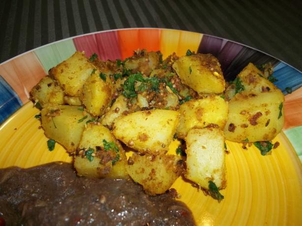Bombay Spiced Potatoes