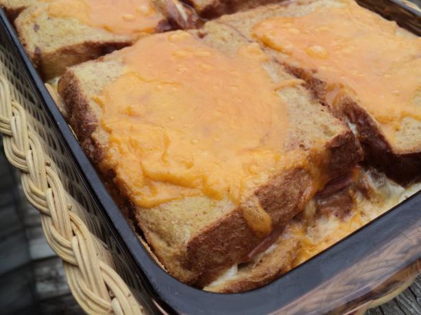 Croque Monsieur Bake