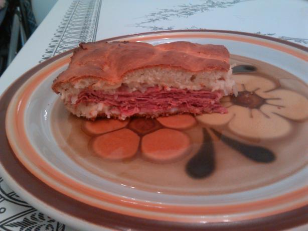Bisquick Baked Reuben Sandwich