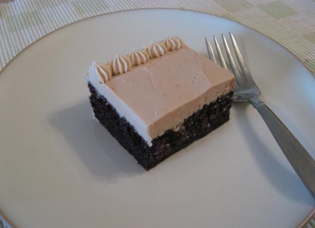 Chocolate Mocha Cake With Buttercream Mocha Icing