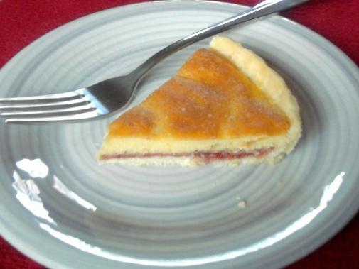 Bakewell Tart With Rice Flour