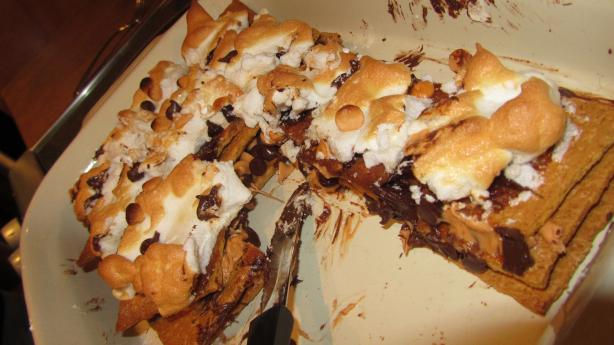 Kosher S'mores Bars