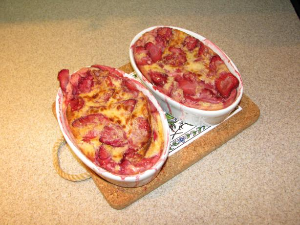 Strawberry Clafouti