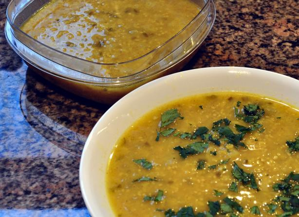 Yellow Mung Dal Soup - Dal Shorba