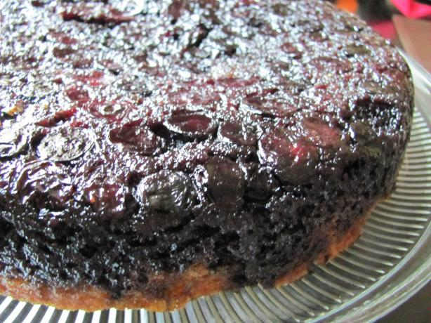 Blueberry-Lime Buttermilk Upside Down Cake