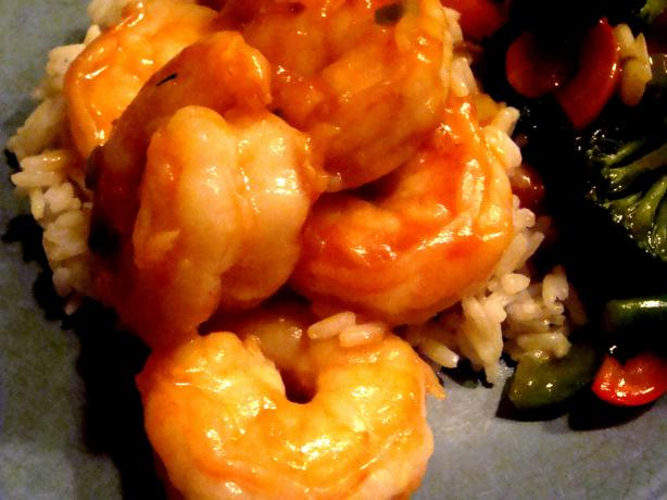 Easy Spicy Shrimp