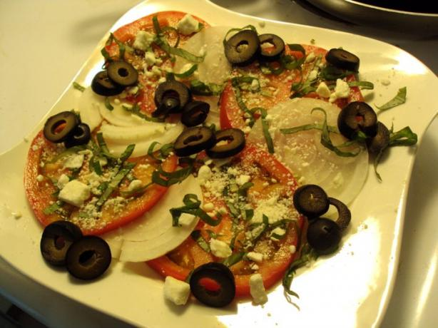 Fresh Tomato Salad With Feta