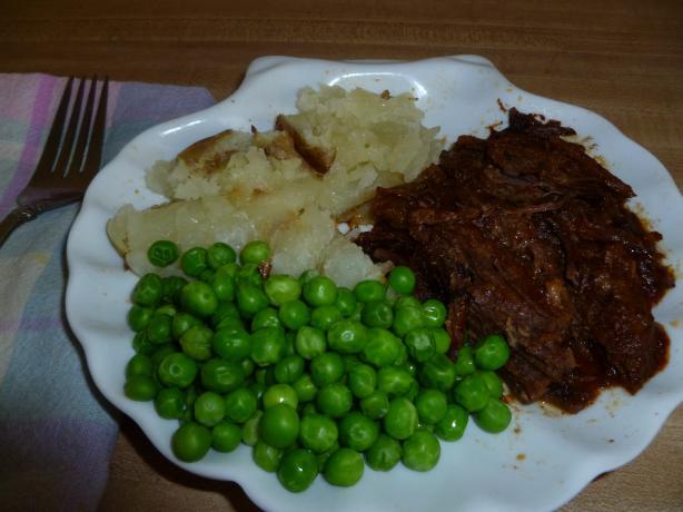 Mother's Bavarian Pot Roast