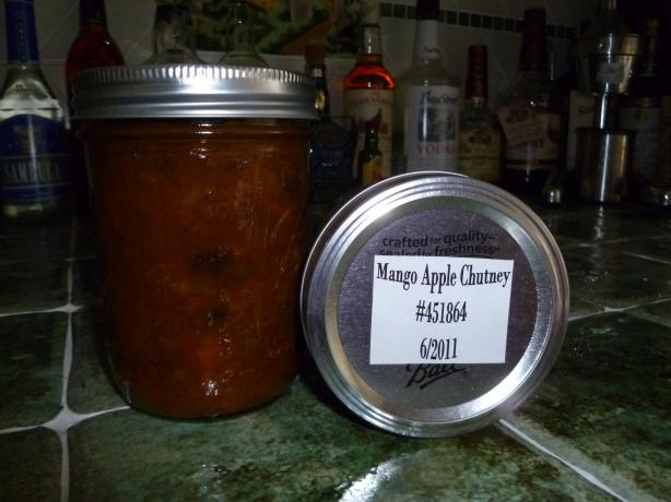 Mango and Apple Chutney