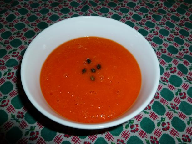 Papaya Soup Cold