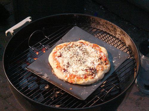 Как сделать пиццу на мангале