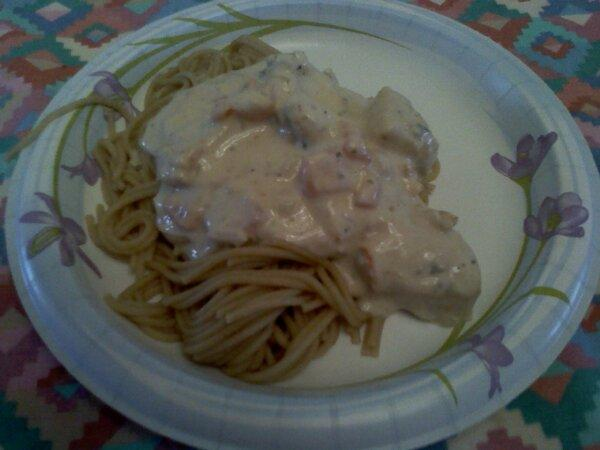 Best Chicken Alfredo (Healthy)