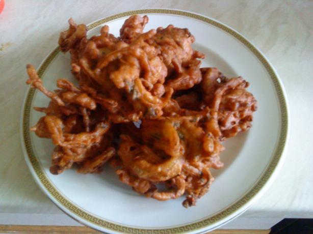 Wicklewood's Tasty Onion Bhajis