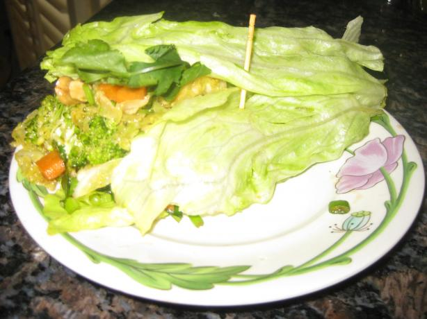 Crunchy Asian Lettuce Wraps