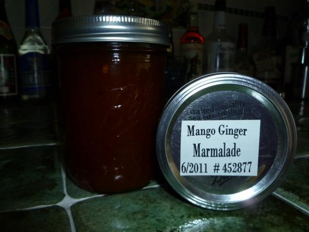 Mango Ginger Marmalade
