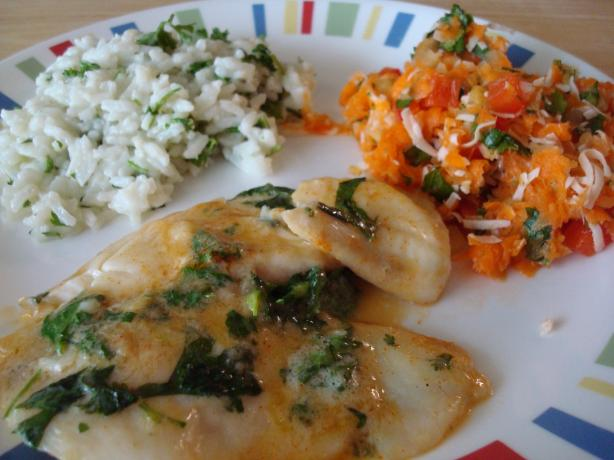 Thai-Inspired Tilapia With Carrot Salad
