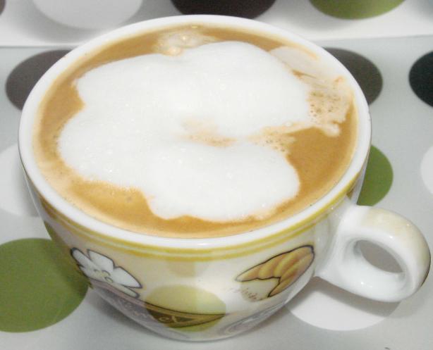 Coffee Foam in Microwave