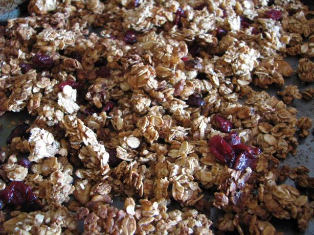 Easy, Low-Fat Granola