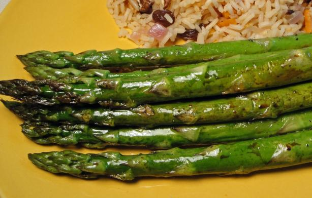Sesame-Roasted Asparagus