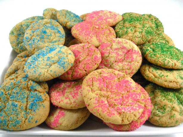 Our Favorite Skinny Easter Sugar Cookies