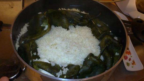 Poblano Peppers Rice