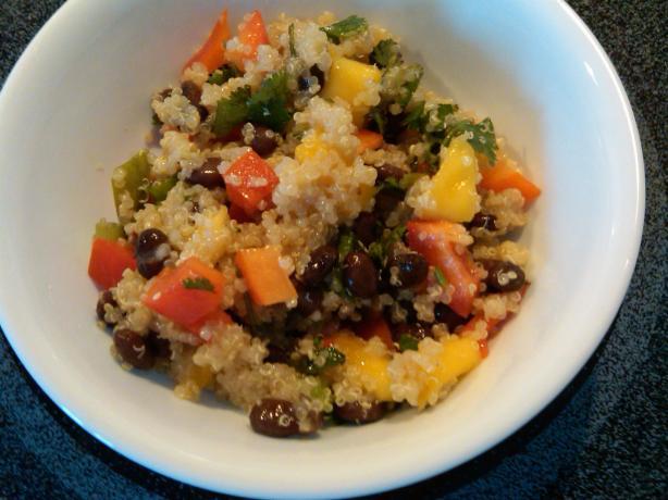Ali Vincent's Mango Quinoa Salad