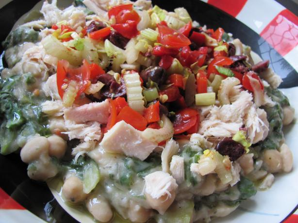 Tuscan Beans With Tuna