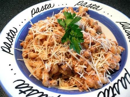 Italian Pasta and Sausage Dinner