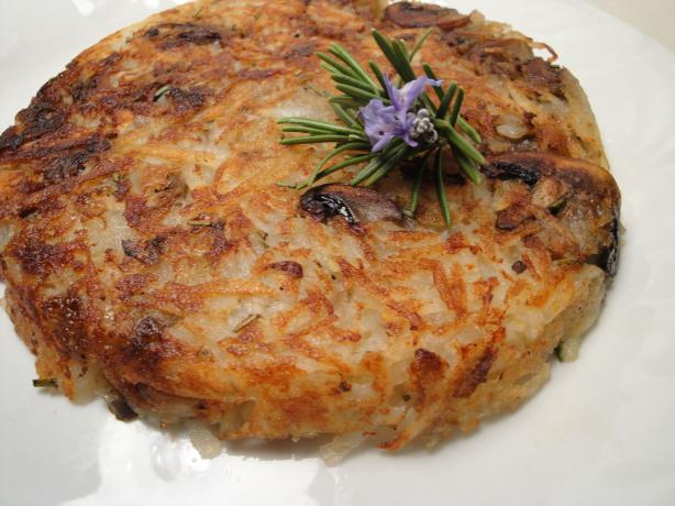 Rosti With Mushrooms