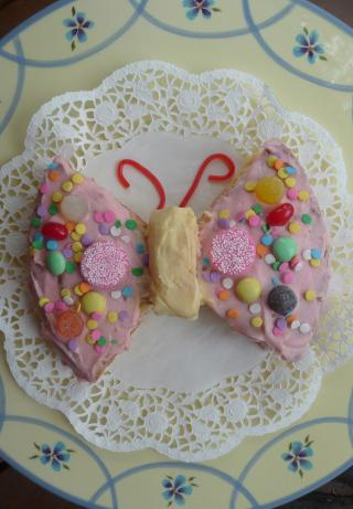 Family Fun's Butterfly Cake (For Dummies)