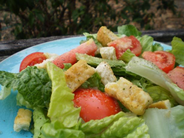 Sicilian Romaine-Tomato Salad