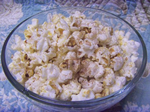 Cinnamon and Honey Popcorn