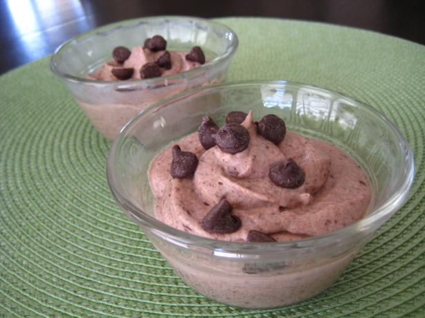 Chocolate-Amaretto Ricotta Mousse